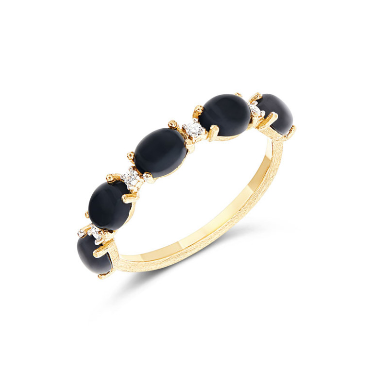 DANCING MYSTERY BLACK Ring