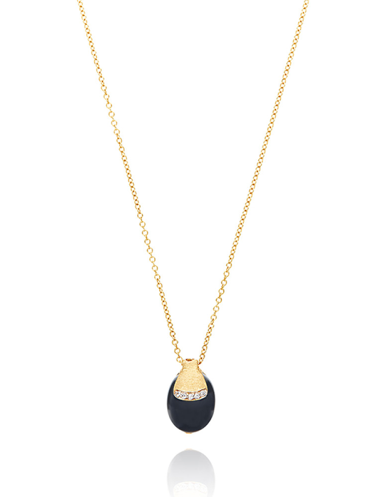 DANCING MYSTERY BLACK Necklace