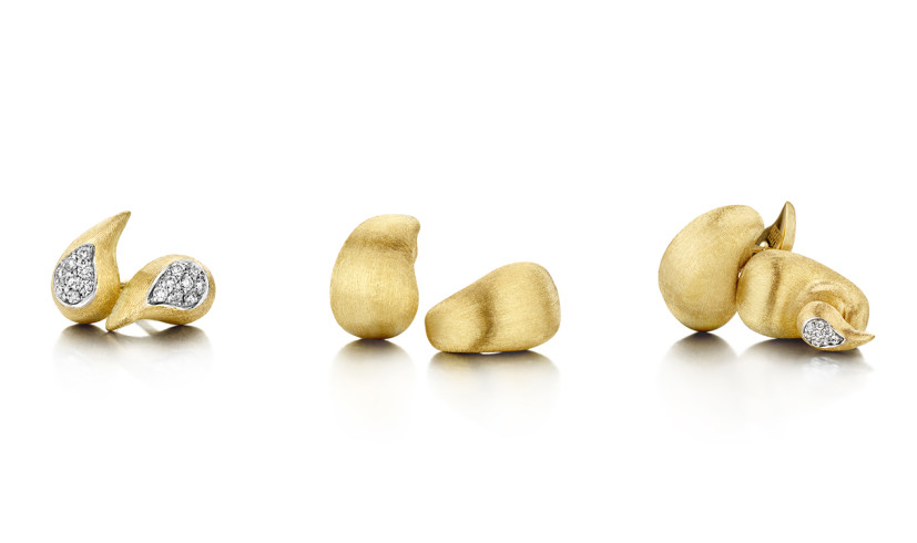 """CASHMERE"" 18KT GOLD EARRINGS: AN EXTREMELY VERSATILE JEWEL"